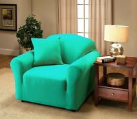 JERSEY FURNITURE SLIPCOVERS FOR CHAIR SOFA COUCH LOVESEAT RECLINER SIZES-  XX