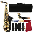 Saxophone Sax Eb Alto Brass Carved Orchestral Instrument  Bag Gift for Friends
