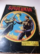 bandes dessinées insolites, spiderman , un duel sans répit , N°29 (car15)