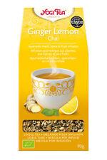 Yogi Tea Loose Gingembre Citron Chai 90 G goût piquant de gingembre est équilibr...