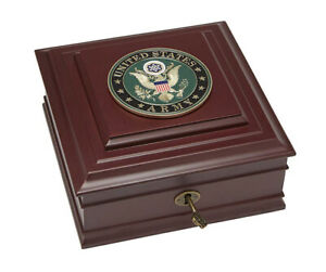 Allied Frame U.S. Army Medallion Executive Desktop Box *100% MADE IN THE U.S.A*