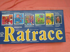 1973 WADDINGTONS RATRACE BOARD BOARD GAME 100% COMPLETE