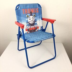 Thomas Childrens Folding Chair Red Arms Thomas the Tank Engine and Friends
