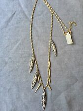 Jcrew Multi Long Crystal Floret Necklace Nwt Sold Out