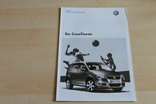 79480) VW Cross Touran - Preise & Extras - Prospekt 05/2008