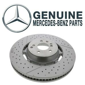 Genuine Front Brake Disc Rotor For Mercedes W205 R231 AMG GT 63 S C63 SL63 SL65
