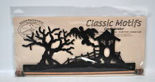Classic Motifs 12 Inch Haunted House Craft Holder