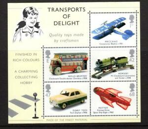 2003 TRANSPORTS OF DELIGHT Miniature Sheet MS2402 MNH Rocket Train Bus Plane Car