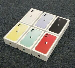 Véritable Apple IPHONE 11 Vide GB Boîte - Avec/Sans Accessoires