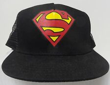 DC Comics Superman Snap Back Hat Adjustable Back  NEW