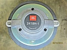 JBL 2418H HF Compression Driver For EON 15-G2 Used and Working Good