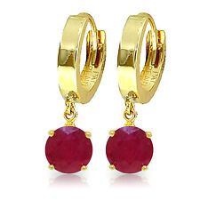 2.5 Carat 14K Solid Gold Frida Ruby Earrings