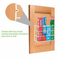 Kitchen Wrap Organizer Storage Foil Shelf Holder Rack Mount Wall Door Cabinet