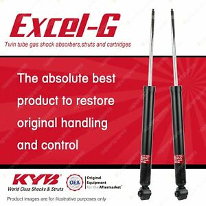 2 x Rear KYB EXCEL-G Shock Absorbers for AUDI A1 8X Al Model Excl.4WD
