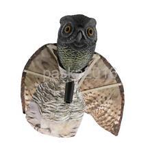 Flying Owl Decoy Pest Control Garden Defense Repellent Bird Scarer Scarecrow