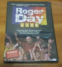 Roger Day: Live (DVD, 2003) kids family songs concert music REady To Fly NEW