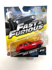 Mattel Voiture Modèle 1/55 Fast and Furious CHEVY CORVETTE 1966 30 de 32 à collectionner