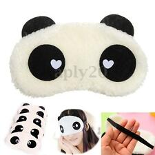 Cute Panda Soft Cotton Sleeping Eye Mask Blindfold Shade Travel Sleep Aid Gift