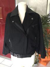 Veste cape pancho KAPORAL taille S Noir neuf 149€