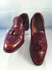 ALLEN EDMONDS ~ Saratoga Burgundy Tassel Loafers - size 8.5 D