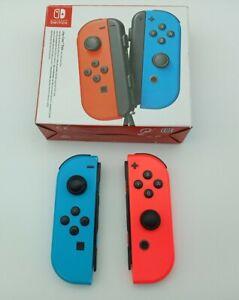 JoyCon Controller Pair - Neon Red Neon Blue (Nintendo Switch)