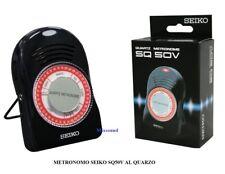 METRONOMO SEIKO SQ50V AL QUARZO con controllo del volume Beats 40 - 208