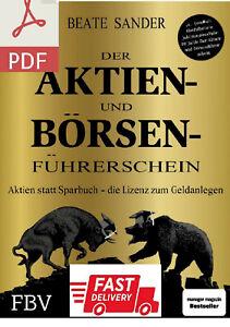 Beate Sander Der Aktien- und Börsenführerschein / Lese die Beschreibung