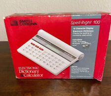 Smith Corona Spell Right 100 Electronic Dictionary, Calculator & Games