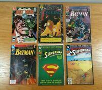 COMIC BOOKS (Lot Of 50+) Assorted w/ Superheroes: Batman, Superman, etc. LOT B