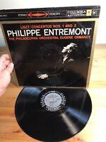 Concerto No 2 In A Major Columbia Philippe Entremont Album Vinyl Record
