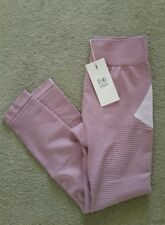 NWT DEMI LOVATO FABLETICS SCARLETTE HIGH WAISTED LEGGING MESH COLORBLOCK S/4-6