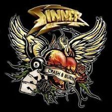 """SINNER """"CRASH & BURN"""" CD NEU"""