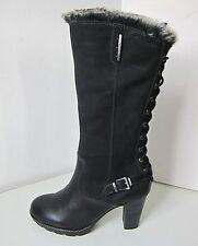 Tamaris Vario Stiefel Boots schwarz Gr. 37 boots black fake fur Weite M - XL