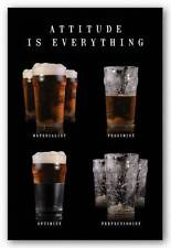 DRINKING POSTER Attitude Is Everything