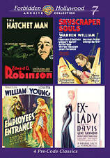 Forbidden Hollywood Collection: Volume 7 DVD, Edward G. Robinson, Bette Davis, L