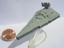 Star Wars Micro Machines IMPERIAL STAR DESTROYER (White Engines) with stand