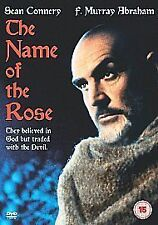 THE NAME OF THE ROSE DVD SEAN CONNERY Film Umberto Eco Movie  UK NEW SEALED R2