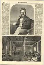 1858 Smoking Room House Of Commons Pj Locke King East Surrey