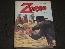 """ZORRO GIGANTE N.5 - CERRETTI EDITORE 1977 - OTTIMO """"N"""""""