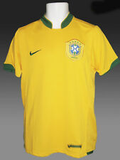 e1d564965 Vintage Nike Brazil Brasil Football-shirt Home Canary Yellow XXL