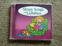 SLEEPY SONGS AND LULLABIES -  AUDIO BOOKS- TALKING BOOKS     ( 1 CD )