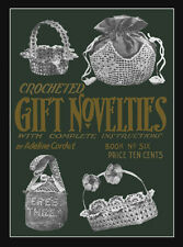Adeline Cordet #6 c.1916 Vintage Patterns for Crochet Purses & Gifts for Ladies