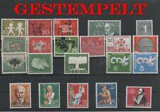 Germany Bund BRD Jahrgang yearset 1958 gestempelt used komplett complete