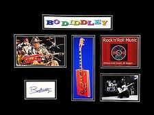 Bo Diddley Original Autograph