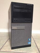 DELL OPTIPLEX 790 MINI TOWER I3-2100 3.10GHZ, 8GB MEM, 250GB 7200 HD, WIN 10 PRO