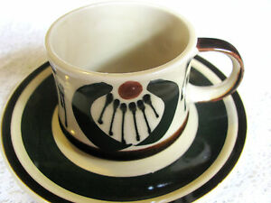 Vintage Japan Stoneware Cup And Saucer Set