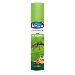 Spray für Mücken und Zecken Grün Macht ökologisch 90ml BROS