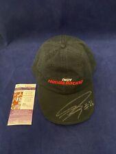 Dan Wheldon Signed Hat Autographed Honda Indy Racing JSA