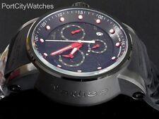 Invicta Mens 48mm Yakuza Dragon S1 Rally Black SS Chronograph Watch Poly Strap