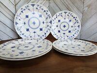 "Set of 6 Churchill FINLANDIA (COLUMBIA) Plates 3 Salad (8"") & 3 Dinner (9 7/8"")"